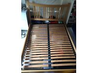 John Lewis King Size Bed. Needs basic repair.