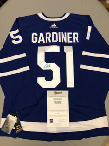 a821b72f7 Signed Licensed NHL Jersey with COA  Maple Leafs - JAKE GARDINER