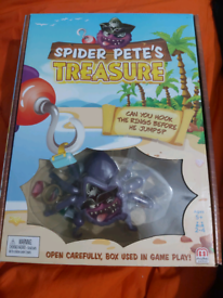 Spider Pete treasures game new