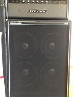 Traynor YBA-3 and Acoustic 105 cab