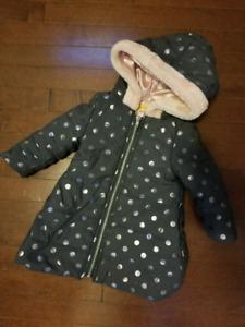 18 month old girls winter jacket