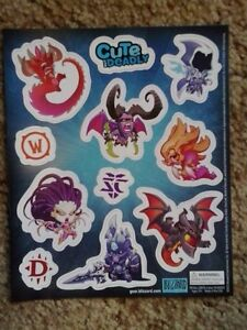 Blizzard : Cute But Deadly : Magnet sheet