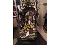 Cosatto buggy and 2 car seats