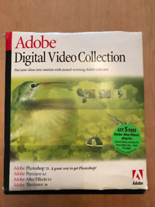 Adobe Digital Video Collection - Fully legit with serial numbers