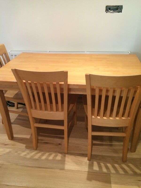 Table and four chairs in Derriford Devon Gumtree : 86 from www.gumtree.com size 600 x 800 jpeg 45kB