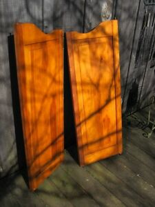 PAIR OF KNOTTY PINE SALOON DOORS