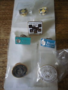 new lapel pins - Marine Atlantic - MSVU - NS - Canada