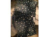 Brand new denim shorts tk maxx size 8