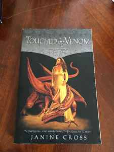 Touched by Venom (Dragon Temple Saga #1) by Janine Cross