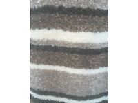 New thick luxury stripe carpet