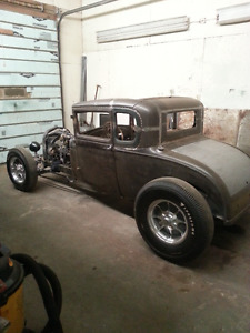 1928/29 Ford model a coupe. hot rod. project