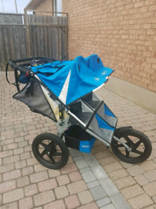 Bob double jogging stroller, very good condition