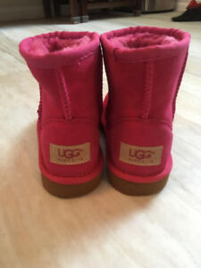 Ugg Mini Boots Hot Pink Toddler size 13
