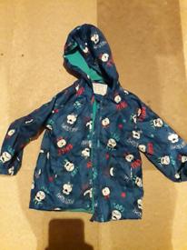 Boys 3-4 years monkey raincoat