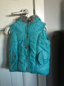 Cute girls size 18mo vest great for early fall