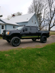 2011 gmc sierra lifted