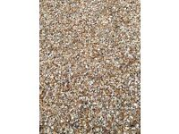 Gravel for free and circle stone