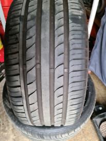 Tyres budget's 245/35/18 x2
