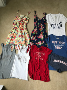 $50 for 8 Abercrombie assorted dresses, tops, and shorts