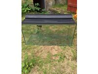 88 Litre marina fish tank with accessories