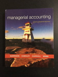 Managerial Accounting 8th Edition