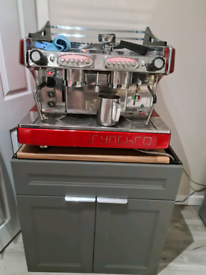 ROYAL SYNCHRO COFFEE MACHINE AND ANFIM MILANO CT GRINDER