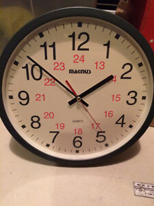 Wall Clock with Large Numbers
