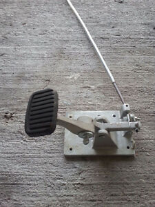 Instructor brake pedal assembly