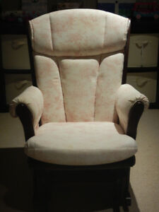 Glider Rocking Chair - perfect for new moms!