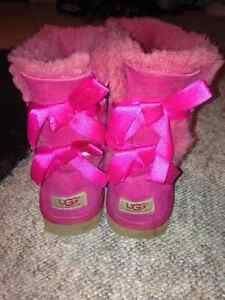 Pink Bailey bow uggs boots St. John's Newfoundland image 4