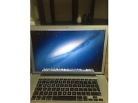 MacBook Pro 15 inch early 2011 2.2ghz 4gb memory 500gb sata disk