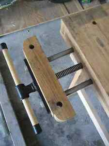 Woodworker's Bench - Solid Maple w/tail and side vises Kitchener / Waterloo Kitchener Area image 5