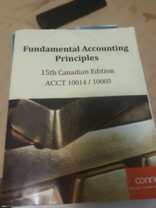 Fundamentals of accounting( ACCT10014/ACCT10005)
