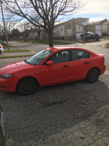 2008 MAZDA 3 4DR 5SPD (NEEDS NOTHING)