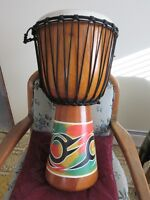 "TOCA series 2ft high - 12"" round Djembe & padded carrying case"