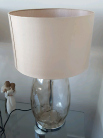A pair ex next table lamps.