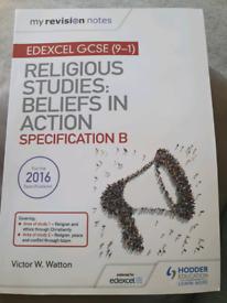 Religious Studies: beliefs In Action. Specification B Edexcel GCSE