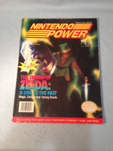 Nintendo Power Magazine Issue Volume 34 with Poster