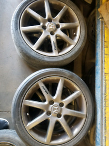 Honda HFP 16 inch great condition mags
