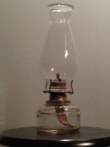 Lampe à l'huile