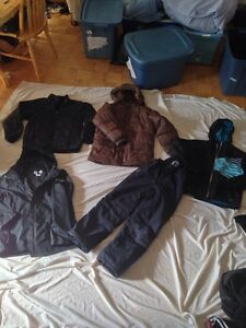 ASSORTED TEEN AND ADULT jackets coats etc