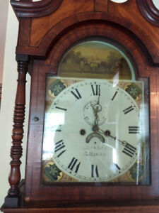 200+ YEAR OLD ENGLISH GRANDFATHER CLOCK