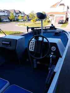 16' princecraft with 60hp evinrude and trailer TRADE FOR BOWRID