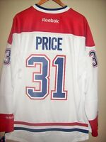 NEW : SIZE L CAREY PRICE 31 MONTREAL CANADIENS NHL REEBOK JERSEY City of Montréal Greater Montréal Preview