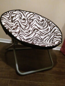 Black and White Moon Chair for sale!