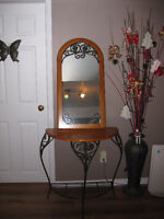 Table / console avec miroir...