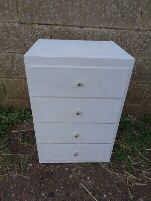 Liden 3 Drawer mid 20th Century Retro Chest Bedside Lightweight and Sturdy