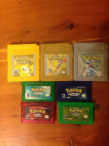 Older generation Pokemon games