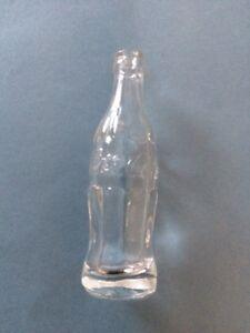 Miniature Glass Coca-Cola Bottle