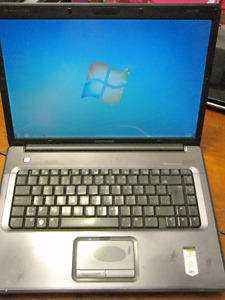Compaq Presario F700 Dual Core Laptop running Windows 7